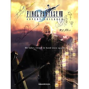 Final Fantasy VII Advent Children Movie Poster (11 x 17)