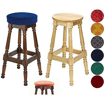 Tamara Wood Bar Stool - Padded / Unpadded