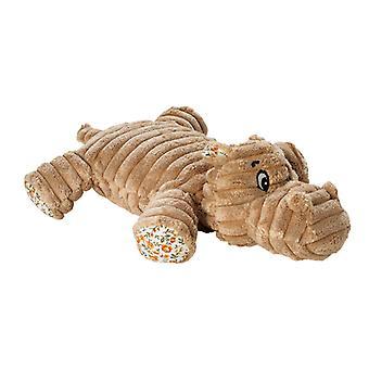 Hunter Dog Toy Huggly Amazonas Hippo (Pack of 3)