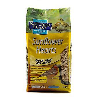 Natures Feast Premium Sunflower Hearts 5kg