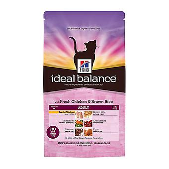 Hill's Ideal Balance Feline Adult With Fresh Chicken And Brown Rice 300g