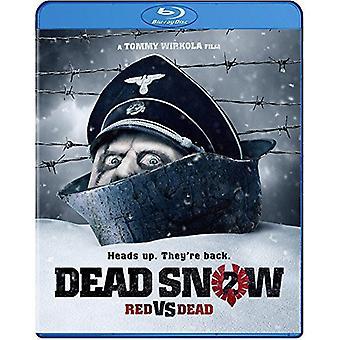 Död snö 2: Röd vs döda [BLU-RAY] USA import