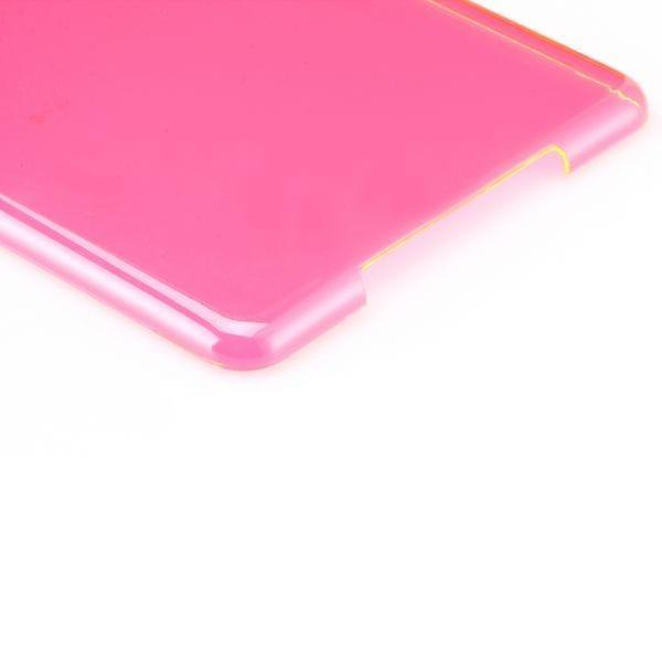 Hardcase glossy Pink for Apple iPad air + foil