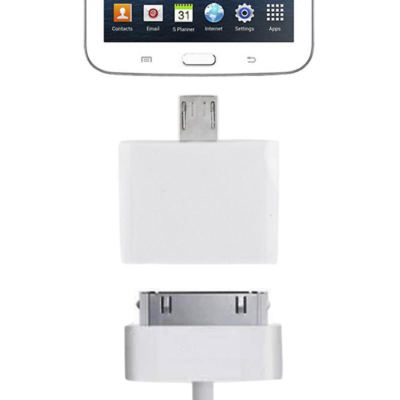 Micro USB Adapter to Apple 30 Pin for all smartphone and tablet Micro USB