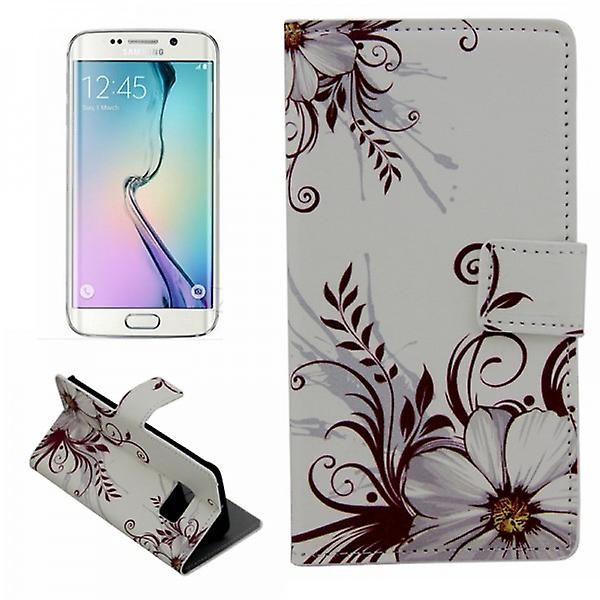 Cover wallet pattern 77 for Samsung Galaxy S6 edge G925 G925F