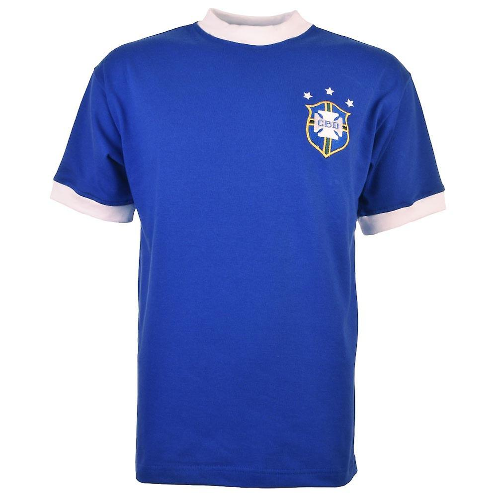 Brazil 1974 World Cup maillot de Football rétro