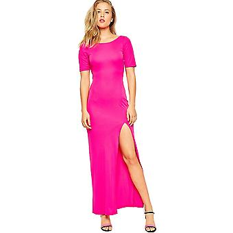 Ex Asos Cowl Back Maxi Dress