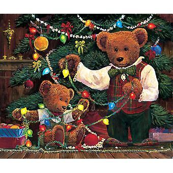 Christmas hjælp plakat Print af John Bindon