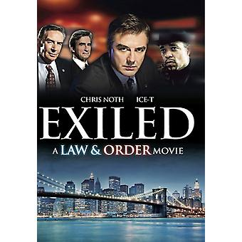 Exiled: A Law & Order Movie [DVD] USA import