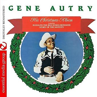 Gene Autry - His Christmas Album [CD] USA import