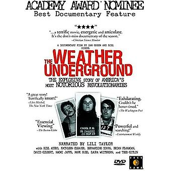 Weather Underground [DVD] USA importerer