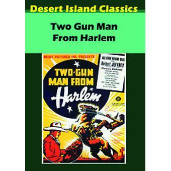 Twee Gun Man uit Harlem [DVD] USA import