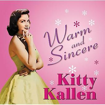 Kitty Kallen - varm & Sincere [CD] USA import