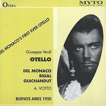 Verdi / Del Monaco / Rigal / Guichandut / Votto - Otello (Buenos Aires 1950) [CD] USA importerer