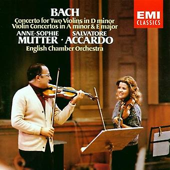 Mutter/Accardo - Bach: Concerto for Two Violins; Violin Concertos [CD] USA import