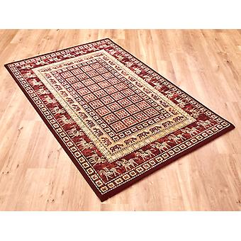 Noble Art 65106-390 Shades of red and beige Rectangle Rugs Traditional Rugs
