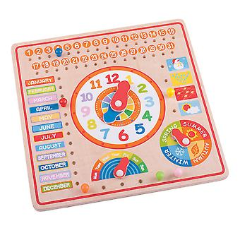 Bigjigs Toys Calendar, Clock Days and Months