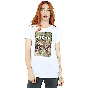 Jungle Book Retro Poster Boyfriend féminin de Disney Fit T-Shirt