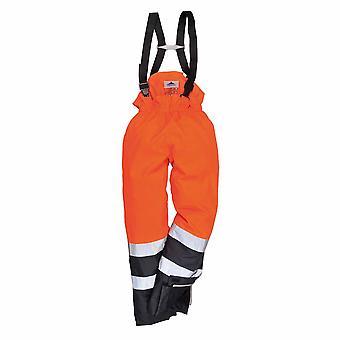 sUw - Bizflame Rain Specialist Safety Hi-Vis Multi-Protection Trouser
