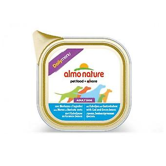 Almo nature Men Daily Cod & Beans (Dogs , Dog Food , Wet Food)