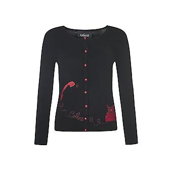 Collectif Clothing Jo Telephone Cardigan