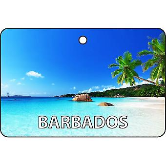 Barbados Car Air Freshener