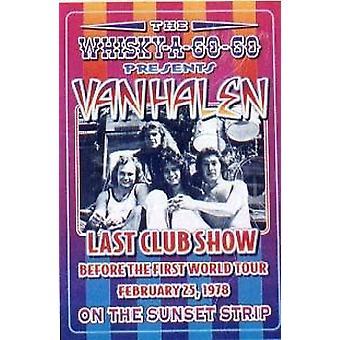 Van Halen último club show Poster Print por Dennis Loren (14 x 20)