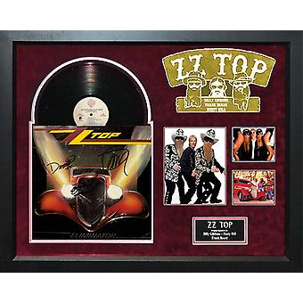 ZZ Top - Eliminator - Signed Album