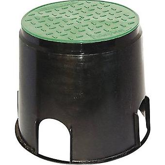 Floor socket Black, Green Heitronic 21035