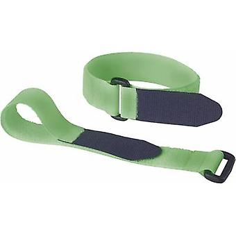 Hook-and-loop tape with strap Hook and loop pad (L x W) 290 mm x 25 mm
