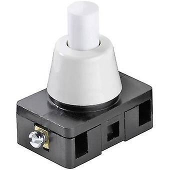 Pushbutton switch 250 Vac 6 A 1 x On/Off interBär