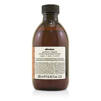 Davines Alchemic Shampoo - # Copper (For Natural & Coloured Hair) - 280ml/9.46oz