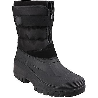 Cotswold Mens Chase Touch & Zip Fastening Padded Winter Boots