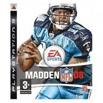 Madden NFL 08 (Sony PS3)