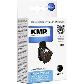 KMP Ink replaced HP 21 Compatible Black