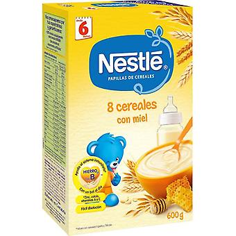 Nestlé Pap 8 Cereals W. Honey And Bifidobacteria (Childhood , Healthy diet , Cereals)