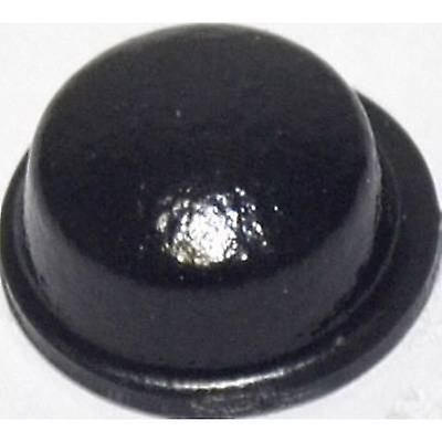 TOOLCRAFT PD2115SW Foot self-adhesive, circular Black (Ø x H) 11.1 mm x 5 mm 1 pc(s)