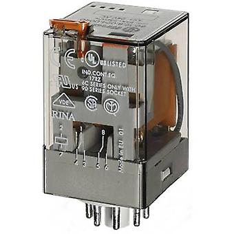 Finder 60.12.8.230.0040 Plug-in relay 230 V AC 10 A 2 change-overs 1 pc(s)