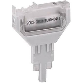 WAGO 2002-800 Empty Plug, Unloaded Compatible with (details): Basis terminal 2002-1661, 2002-1861