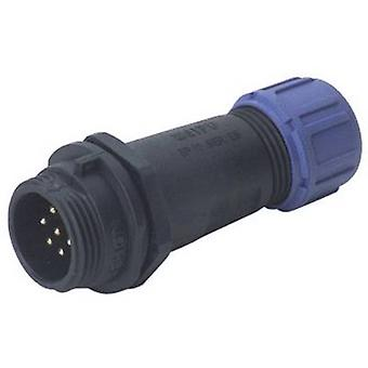 Weipu SP1311 / P 4 I Bullet connector Plug, straight Series (connectors): SP13 Total number of pins: 4 1 pc(s)