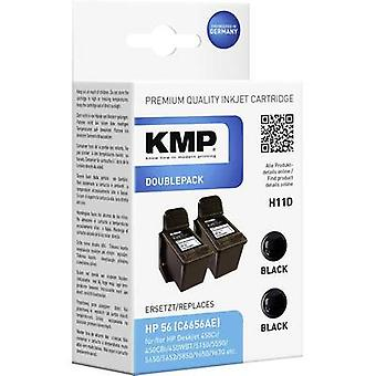 KMP Ink replaced HP 56 Compatible Dual Black