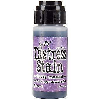 Distress Stain 1oz-Dusty Concord