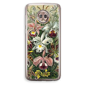 Motorola Moto G6 Transparent Case (Soft) - Haeckel Orchidae