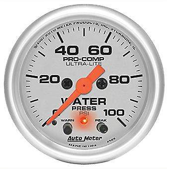 Auto Meter 4368 Ultra-Lite Electric Water Pressure Gauge
