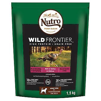 Nutro Wild Frontier Adult Turkey & Chicken 1.5kg Dry Dog Food