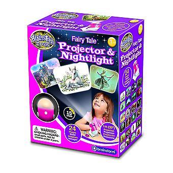 Bajkowy projektor & lampka nocna