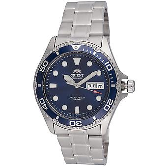 Orient watch Ray II diver mens Silber