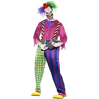 Kolorful Killer Klown Costume, Chest 42