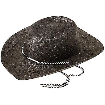 Chapéu de cowboy, Glitter preto