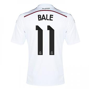 2014-15 real Madrid hem skjorta (Bale 11)